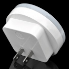 Light-Activated Circular Shaped LED Night Light Lamp - White (110~220V)