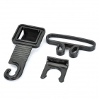 Multi-Function Car Double-Hook Hanger - Black