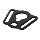Rear Sling Plate Mount Adapter for Airsoft M4 - Black
