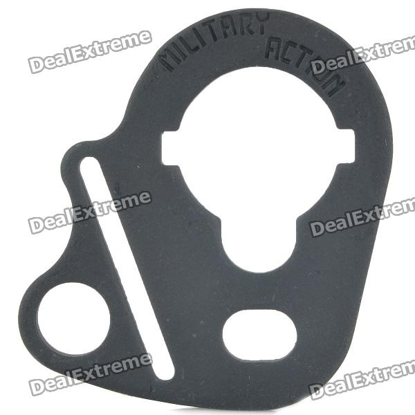 CQB SP-7 Rear Sling Plate Mount Adapter for Airsoft M4 - Black