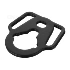 CQB SP-3 Rear Sling Plate Mount Adapter for Airsoft M4 - Black