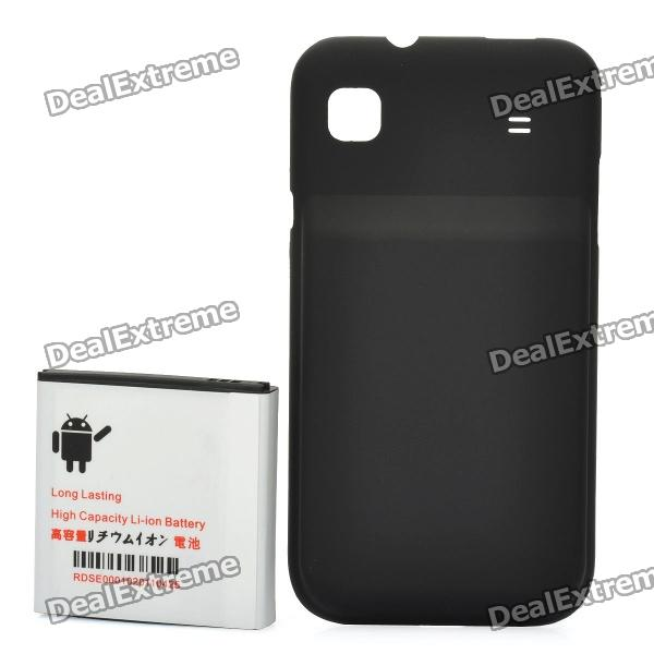 Replacement 3.7V/3500mAh Battery Pack + Back Case for Samsung i9000 Galaxy S / EPiC 4G - Black шины matador mp 47 hectorra 3 215 55 r17 98y xl fr
