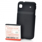 3.7V 3000mAh Extended Battery w/ Back Cover for Samsung i9000 Galaxy S EpiC 4G - Black + Red