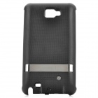 3200mAh External Backup Battery Pack Case for Samsung i9220 Galaxy Note - Black
