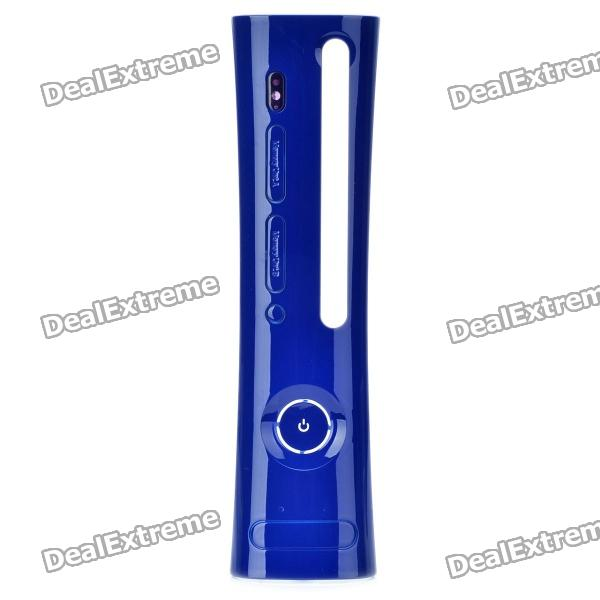 Replacement Plastic Front Plate for Xbox 360 - Deep Blue