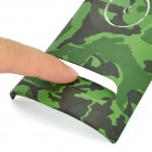 Replacement Plastic Front Plate for Xbox 360 - Camouflage Green