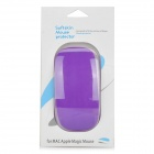 Protección al Medio Ambiente protector de silicona suave piel para Apple Magic Mouse - Purple
