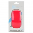 Protective Environment-Friendly Silicone Soft Skin Protector for Apple Magic Mouse - Red