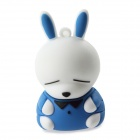 Lovely Mashimaro Style USB 2.0 Flash Memory Drive - Blue (16GB)
