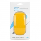 Protective Environment-Friendly Silicone Soft Skin Protector for Apple Magic Mouse - Yellow