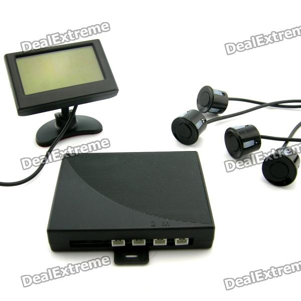 180 Degree Rotatable Digital LCD Monitor Car Parking Sensor / Radar Kit (DC 12V)