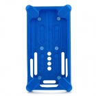 Cool Protective Aluminum Alloy Full Protection Case for iPhone 4 / 4S - Blue