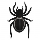 Novel Solar Powered Spider Toy - Black