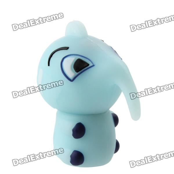 Cute Baby Elephant Shaped USB 2.0 Flash Memory Drive Stick - Light Blue (32GB) samsung usb flash drive disk usb3 0 128gb bar flash drives external storage usb pen drive memory usb stick max read 130m s