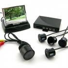 "3,5 ""TFT-Bildschirm Faltdisplay 1-Kanal-Video-Car Parking Sensor / Radar Kit (12V)"