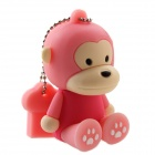 Schönen Cartoon Affe-Stil USB 2.0 Flash Drive Stick - Deep Pink (32GB)