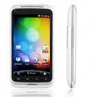 "ChangJiang A007 Android 2.3 WCDMA Cellphone w/ 4.0"" Capacitive, GPS, TV and Wi-Fi - White"