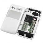 "Changjiang A007 Android 2.3 WCDMA cellulare w / 4.0"" capacitivo, GPS, TV e wi-fi - bianco"