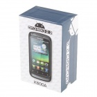 "STELLE K600A Android cellulare GSM 2.2 w / 3,2"" resistivo, Quad-Band, Dual SIM e Wi-Fi - marrone"