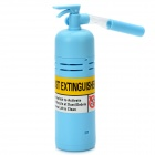 Mini Fire Extinguisher Style Desktop Dust Cleaner - Blue (2 x AA)