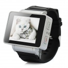 i5 GSM Wrist Watch Phone w/1.8' Resistive Screen, Quad-Band, Single-SIM and FM - Black