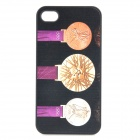 London 2012 Summer Olympics Medal Pattern Protective Case for iPhone 4 / 4S