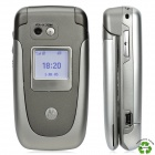 "Refurbished Motorola V360 GSM Flip Phone w/ 2.0"" Screen, Tri-Band, Single-SIM and Bluetooth - Silver"