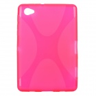 Protective TPU Back Case for Samsung P6800 - Deep Pink