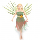 Flitter Fairies Image Doll Toy with Flapping Wings - Daria (1 x CR1620)