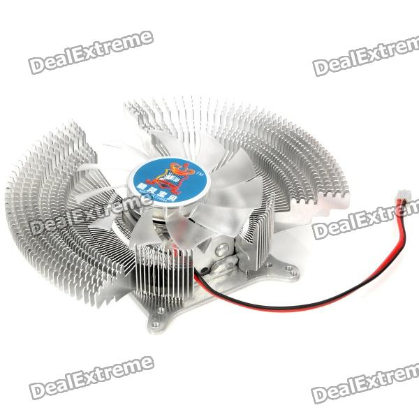 Professional GPU Heatsink with Cooling Fan - Silver от DX.com INT