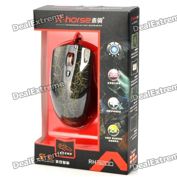 R Horse Gaming Mouse R.Horse RH-3200 USB Wi...