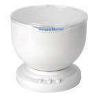 Ocean Waves Projector Pot Speaker (4 x AA)