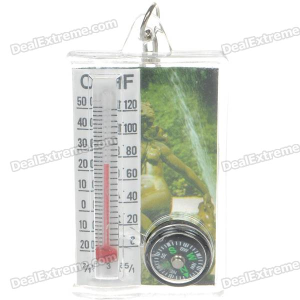 Compass Thermometer (Random Pattern) realleader м2 1005