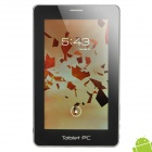 "7"" Capacitive Screen Android 4.0 Tablet w/ WiFi / External 3G / Dual Camera / HDMI - Silver + Black"