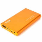 Tragbare 5000mAh Externe Mobile Power Battery Charger w / Adapter - Orange