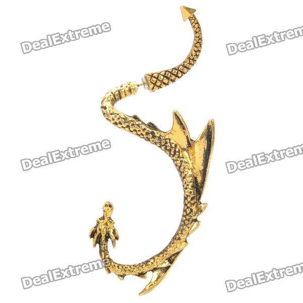 fashion-zinc-alloy-dragon-syle-earring-golden