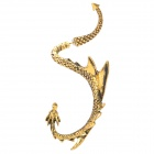Fashion Zinc Alloy Dragon Syle Earring - Golden