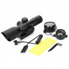 2.5-10X 40mm Green Laser Dot Rifle Scope - Black (2 x AR13)