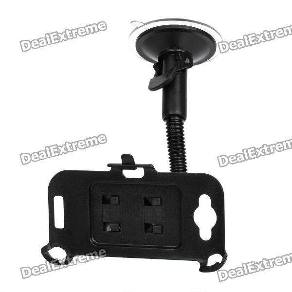 Car Swivel Suction Cup Mount Holder for HTC One S - Black car swivel mount holder with suction cup for htc sensation xl x315e g21 black