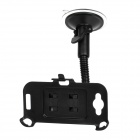 Car Swivel Suction Cup Mount Holder for HTC One S - Black