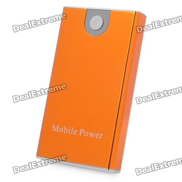 Tragbare 3300mAh Externe Mobile Power Battery Charger w / Adapter - Orange