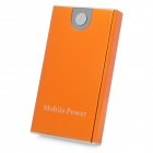 Portable 3300mAh External Mobile Power Battery Charger w/ Adapters - Orange