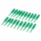 DIY Electronic Test Probe Tip - Green (20-Piece Pack)