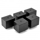 HK3FF-DC12V-SHG-5-Pin Power Relay - Schwarz (5-teilig)