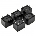 HK3FF-DC12V-SHG 5-Pin Power Relay - Negro (5 piezas)