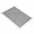 DIY USB 3.0 Male Socket Connector - Silver + Blue (100-Piece Pack)
