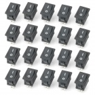 Electrical Power Control On/Off Rocker Switch (20-Pack)