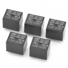 HK3FF-DC5V-SHG 5-Pin Power Relay - Negro (5 piezas)