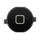 Designer's Replacement Home Button for iPhone 4 - Black
