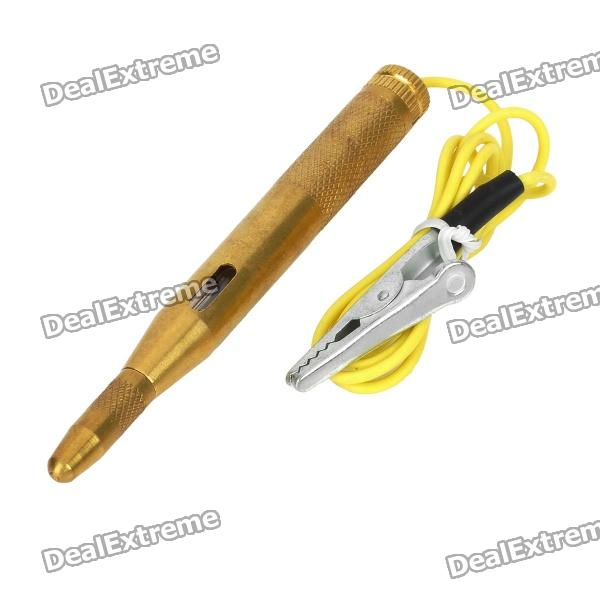 Car Safety Automotive Electrical Circuit Tester with LED Luminotron (DC 6~24V)